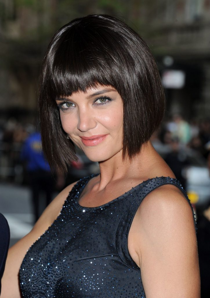Katie Holmes Haircut Pictures