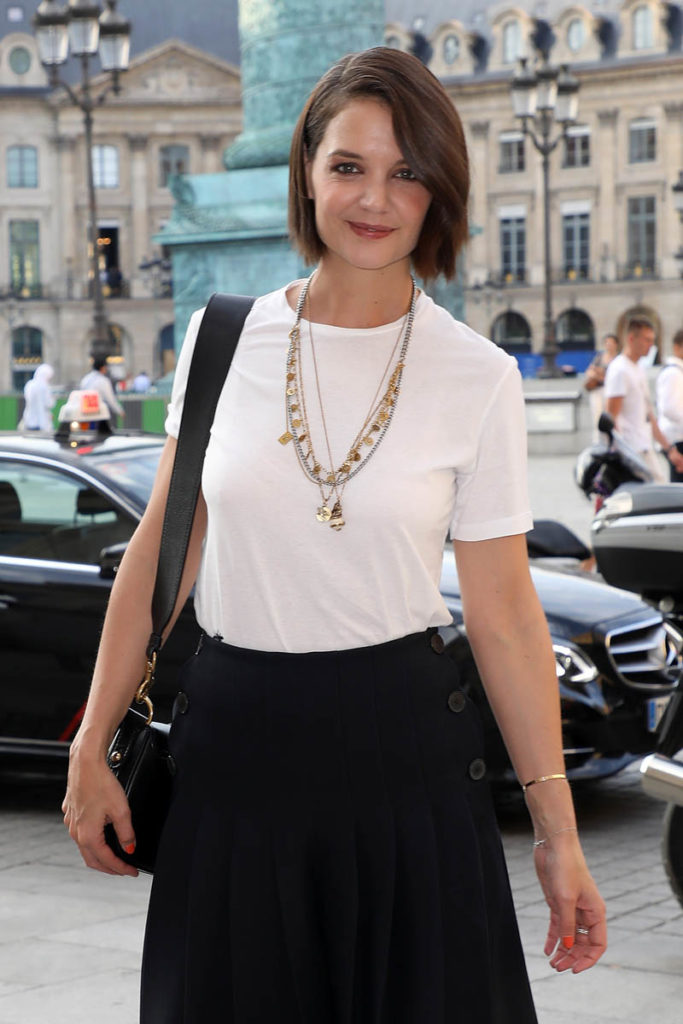 Katie Holmes Smile Face Images