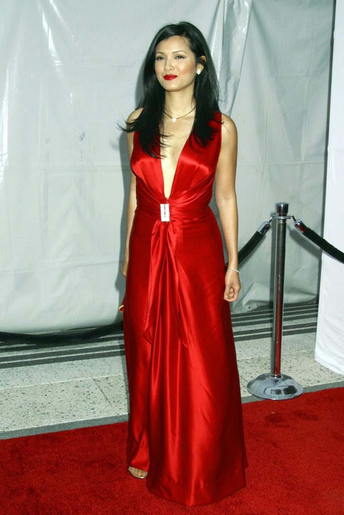 Kelly Hu In Gown Pics