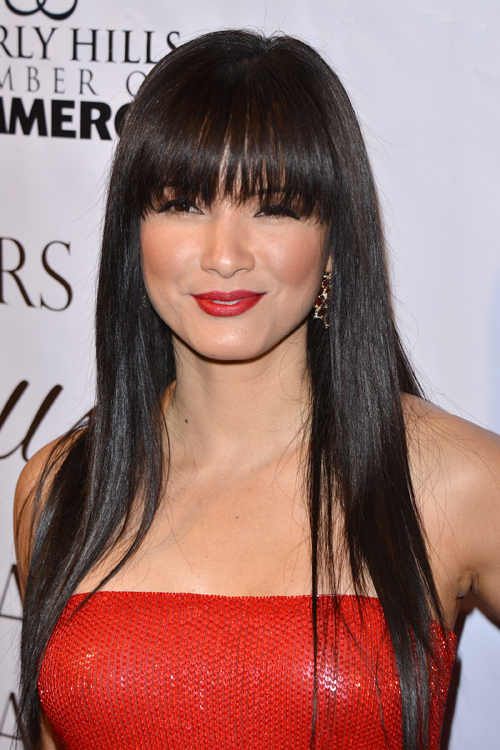 Kelly Hu Working Out Pics