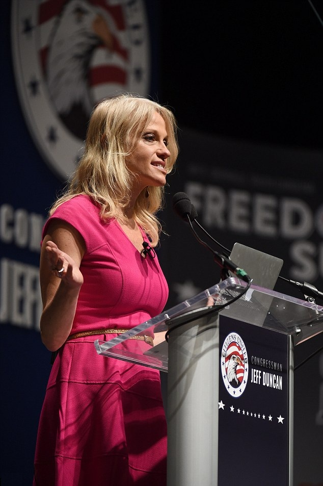 Kellyanne Conway Legs Pictures