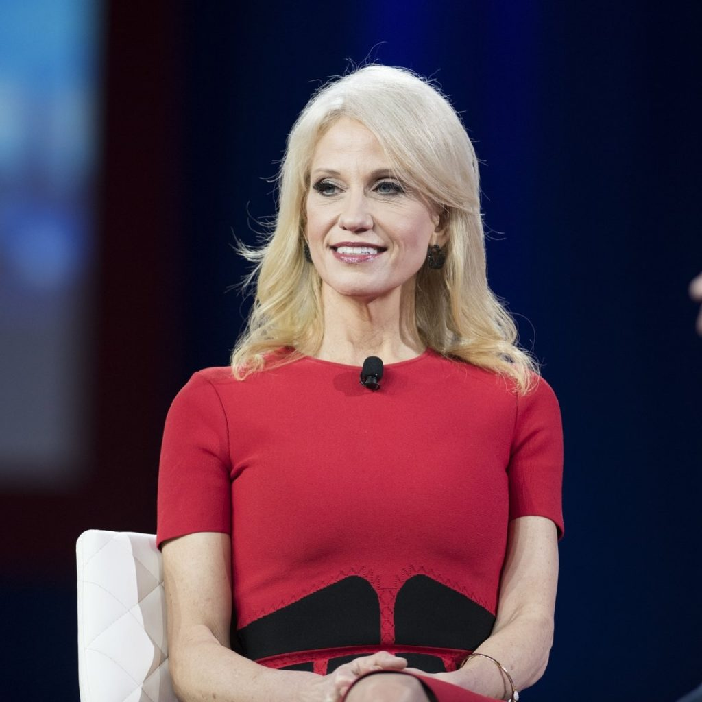 Kellyanne Conway Undergarments Photos