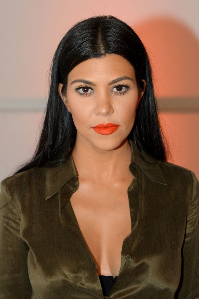 Kourtney Kardashian Braless Wallpapers