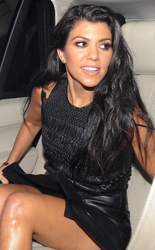 Kourtney Kardashian Oops Moment Photos