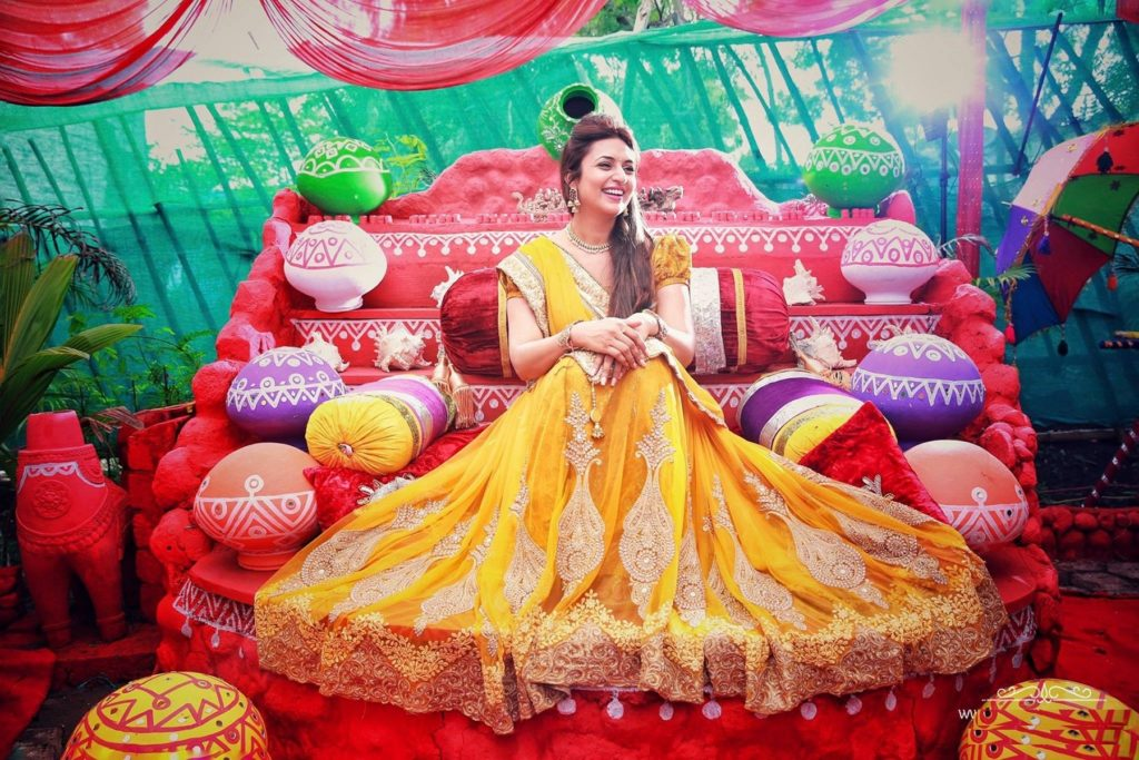 Divyanka Tripathi Gown Photos