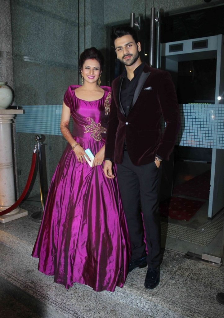 Divyanka Tripathi With Husband Photos