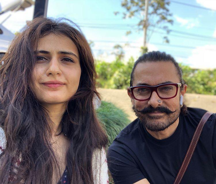Fatima Sana Shaikh With Aamir Khan Pictures