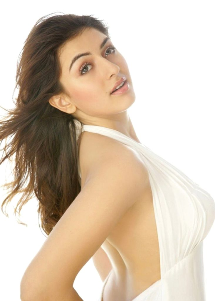 Hansika Motwani Backless Photos