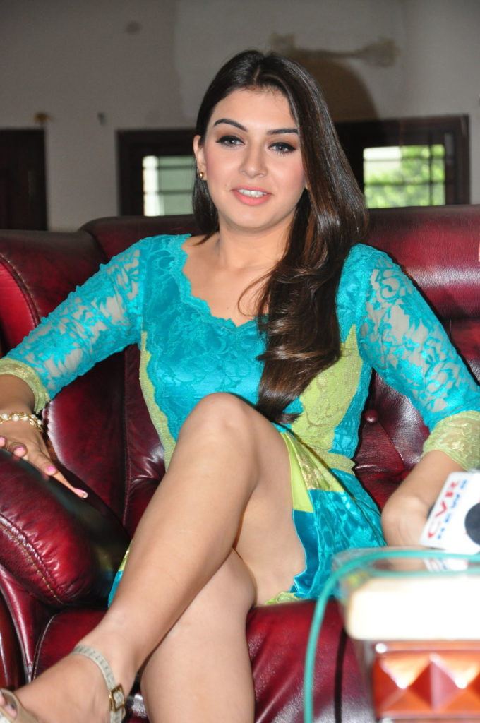 Hansika Motwani Oops Moment Pictures