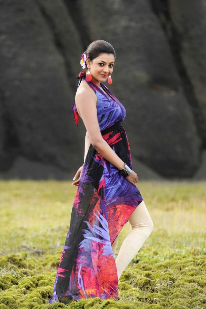 Kajal Aggarwal Backless Pictures