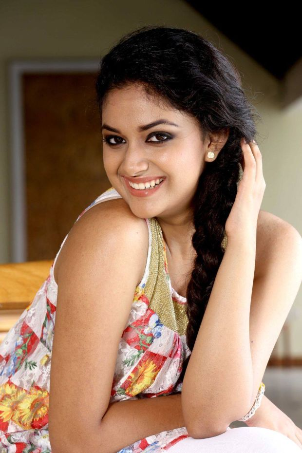 Keerthy Suresh Muscles Images
