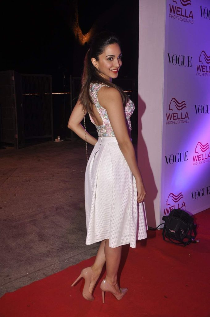 Kiara Advani Backless PHotos