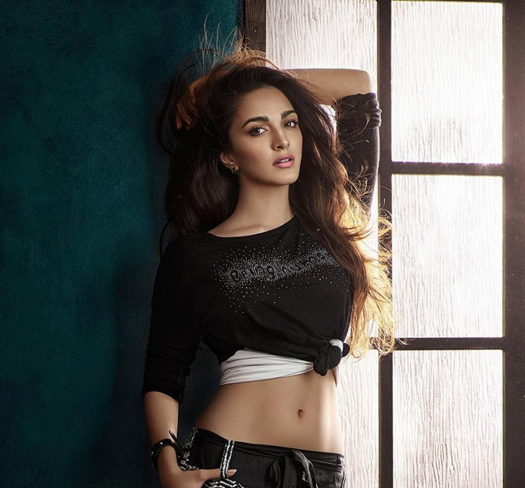Kiara Advani Workout Photos