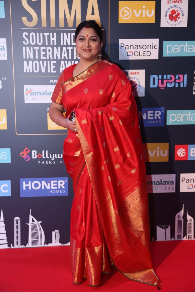 Kushboo Saree Images