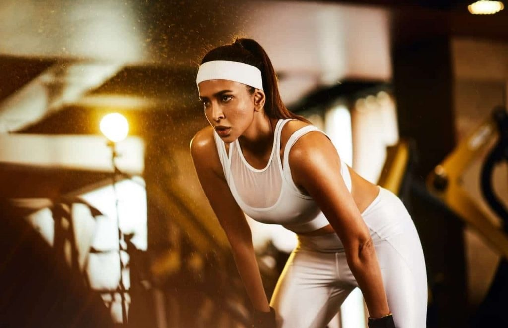 Lakshmi Manchu Workout Images