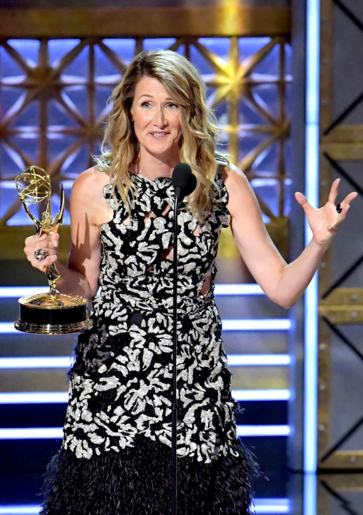 Laura Dern With Award Images