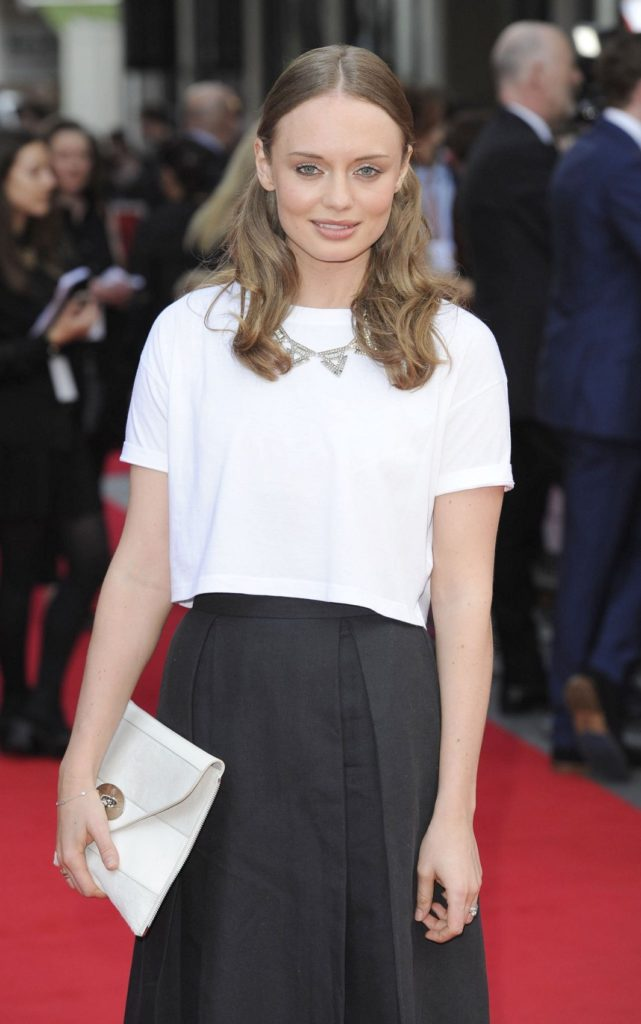 Laura Haddock Gown Images
