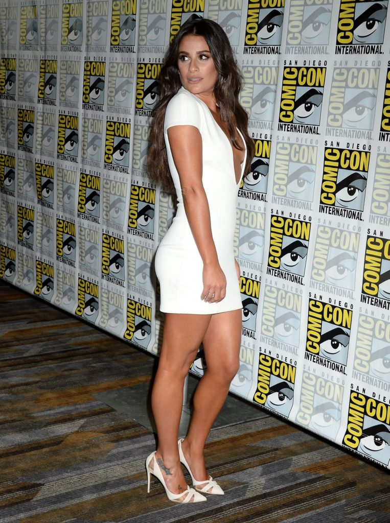 Lea Michele Feet Pictures