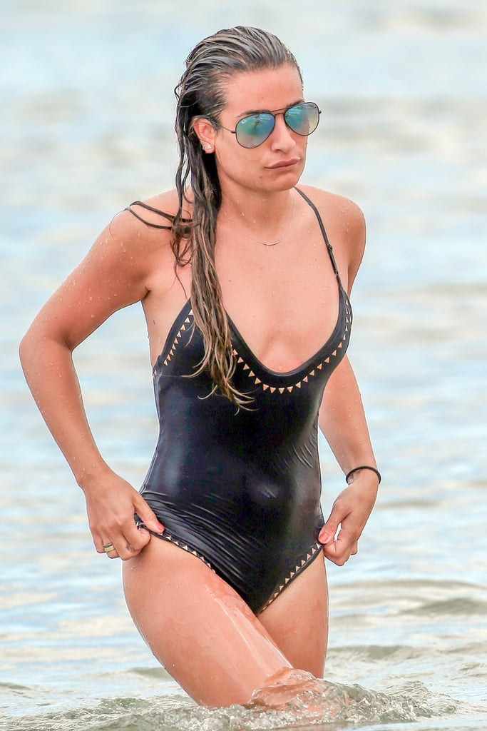 Lea Michele Swimsuit Pictures
