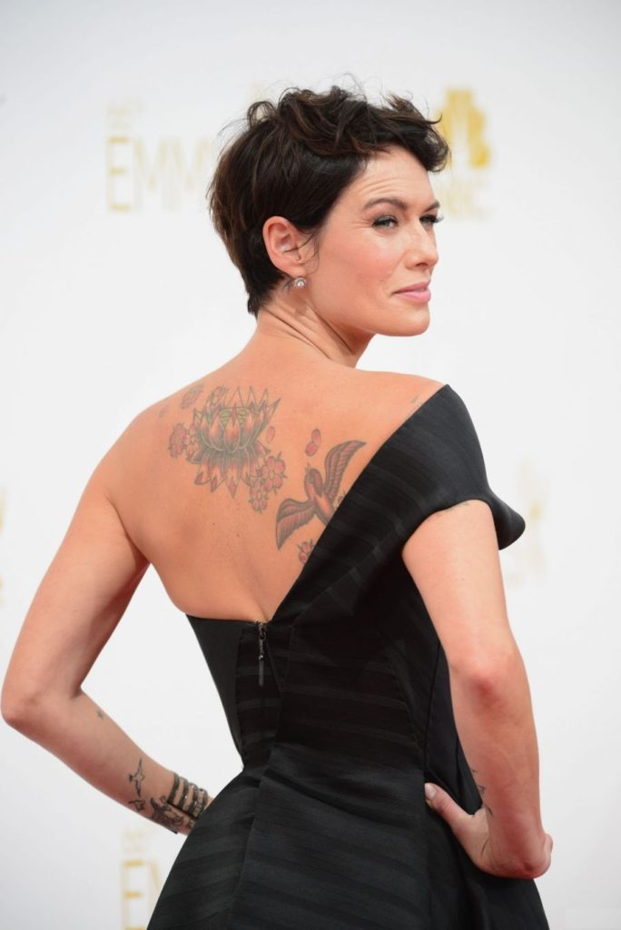 Lena Headey Backless Images