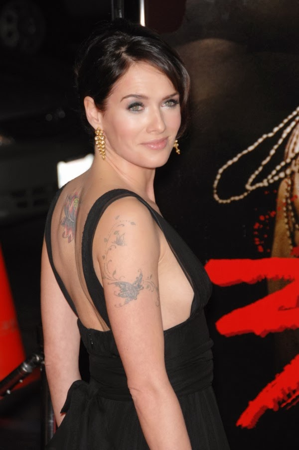 Lena Headey Tattoos Pictures