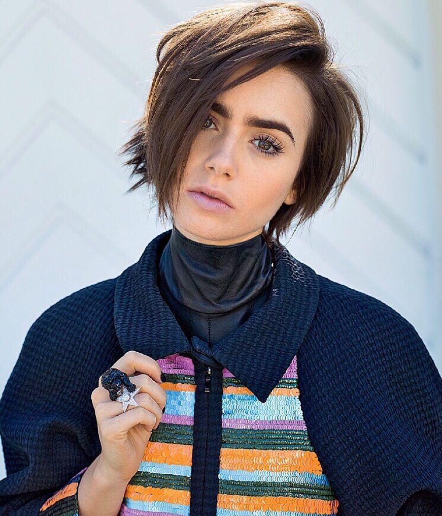 Lily Collins Body Images