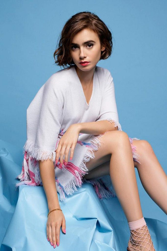 Lily Collins Feet Pictures