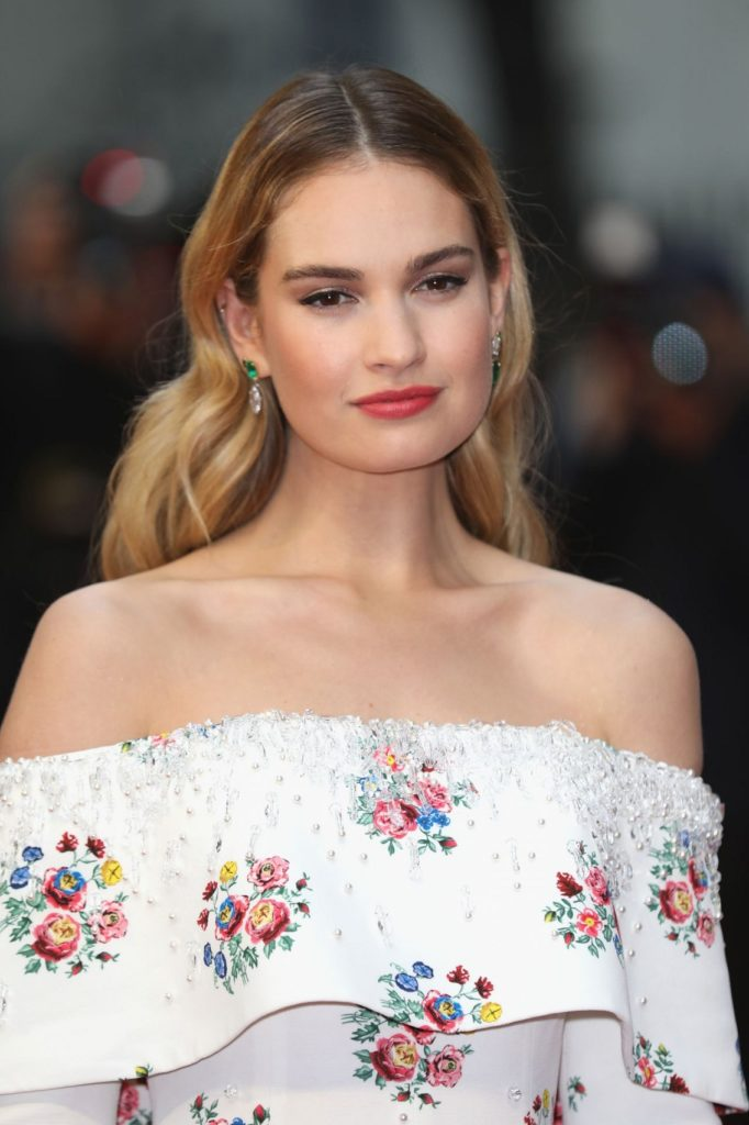 Lily James Cute Images