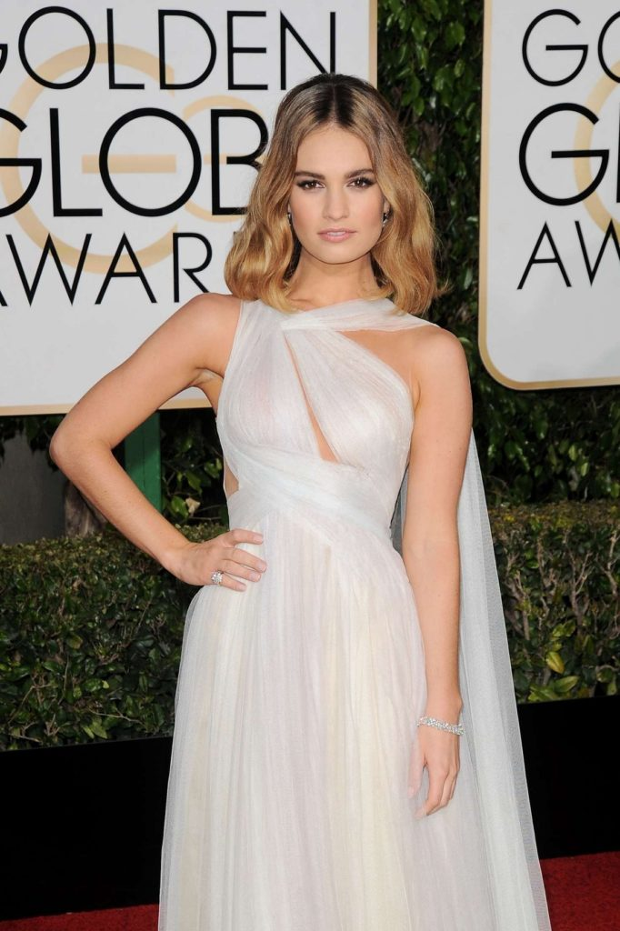 Lily James Haircut Images