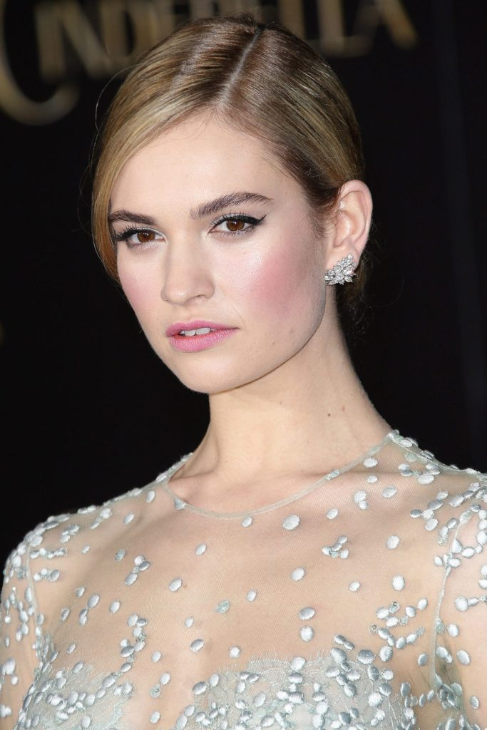 Lily James Hot Photos