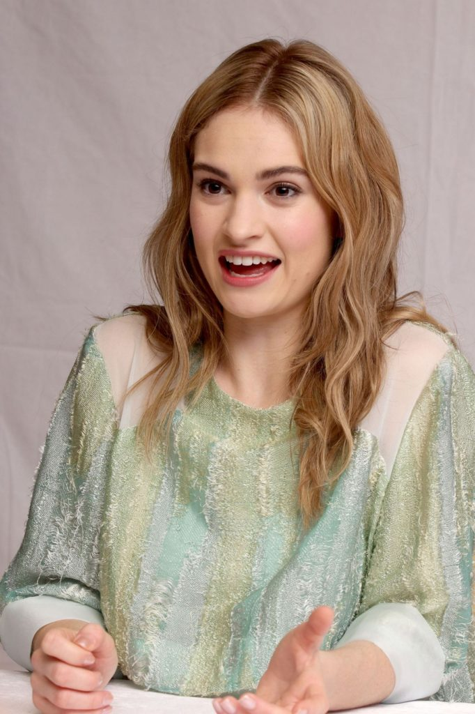 Lily James Leaked Pics