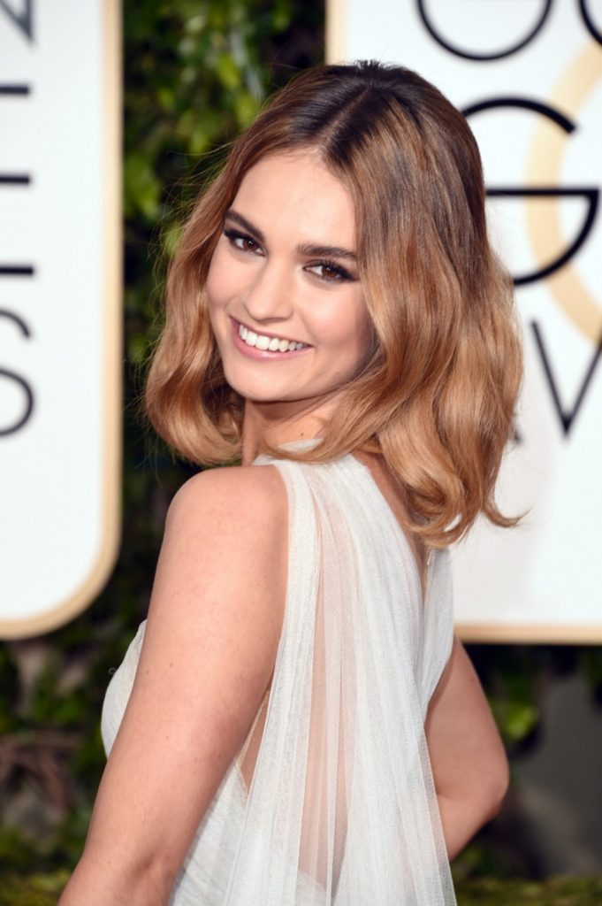 Lily James Pics Gallery