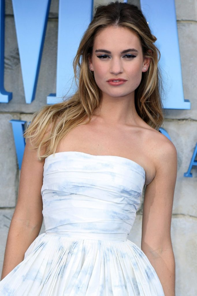 Lily James Pictures Gallery