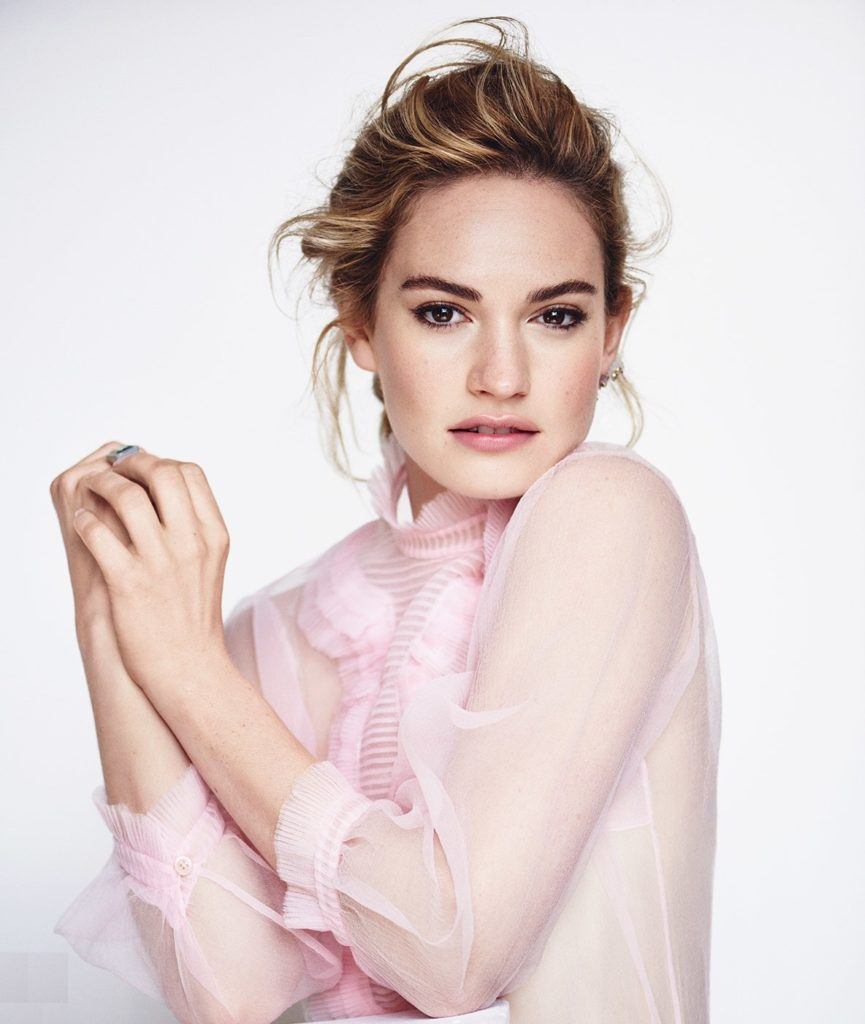 Lily James Sexy Images