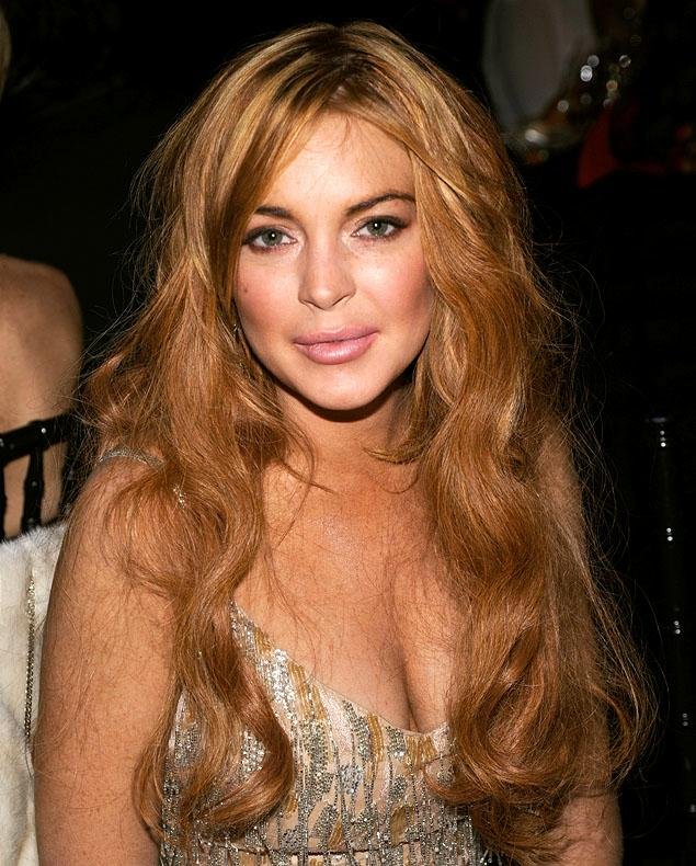 Lindsay Lohan Without Bra Images