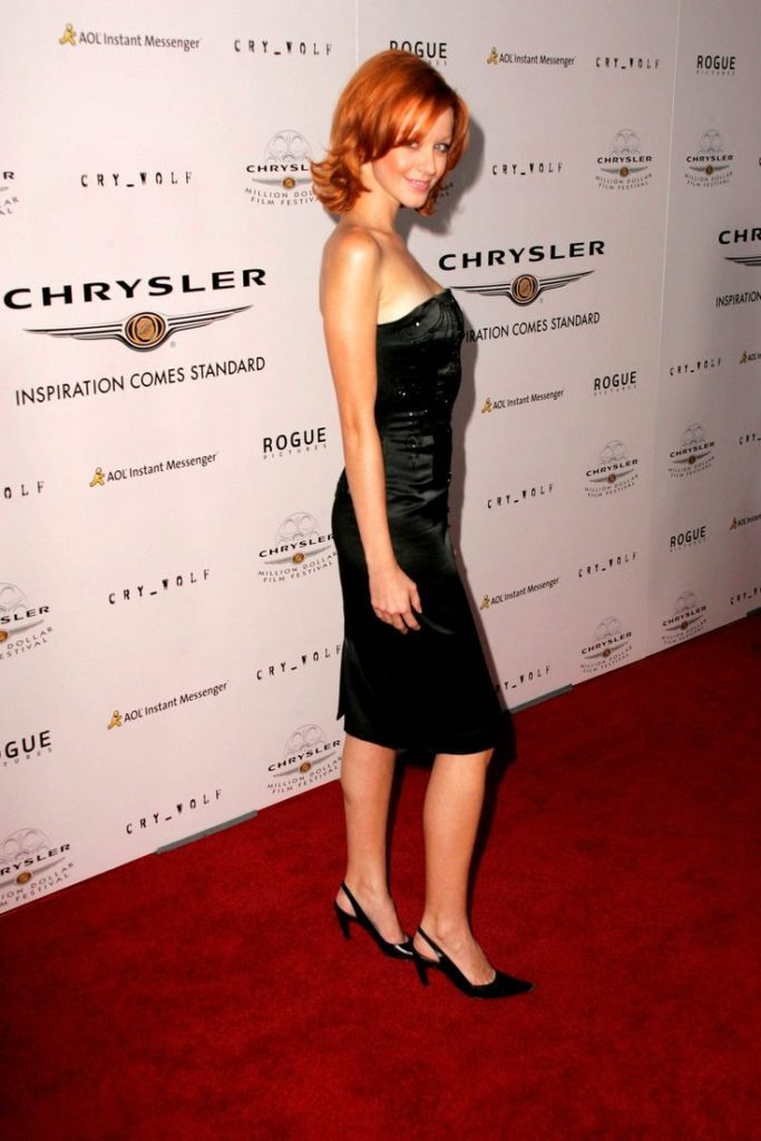 Lindy Booth High Heels Pictures