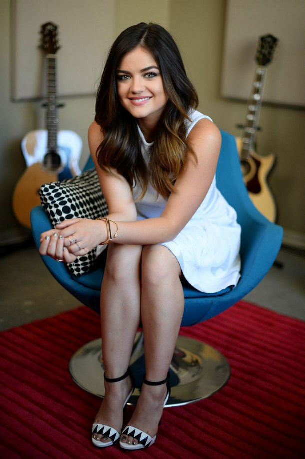 Lucy Hale Feet Photos