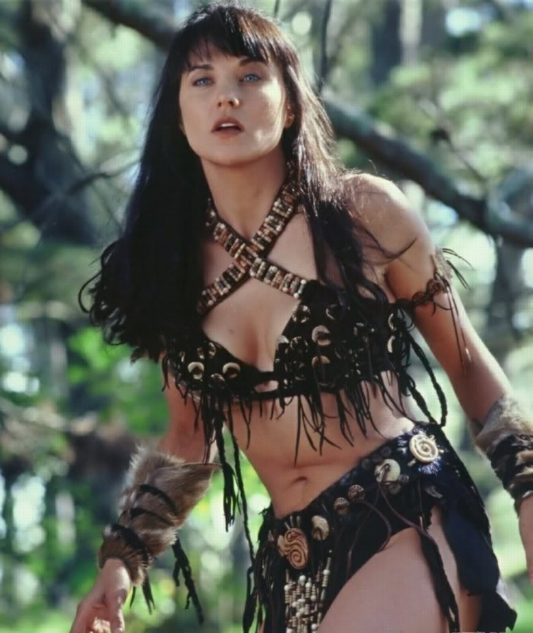 Lucy Lawless Movie Look Images