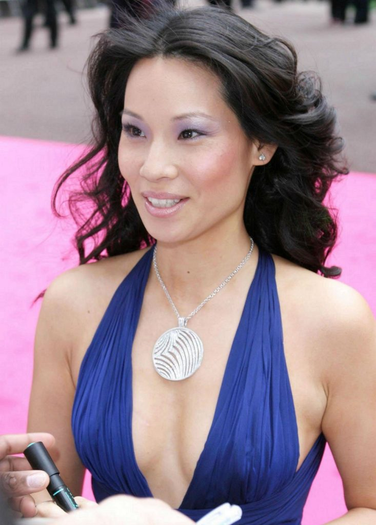 Lucy Liu Braless Images