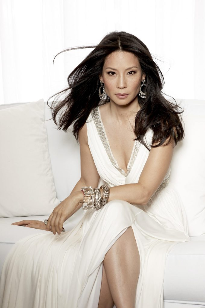 Lucy Liu Cleavage Images