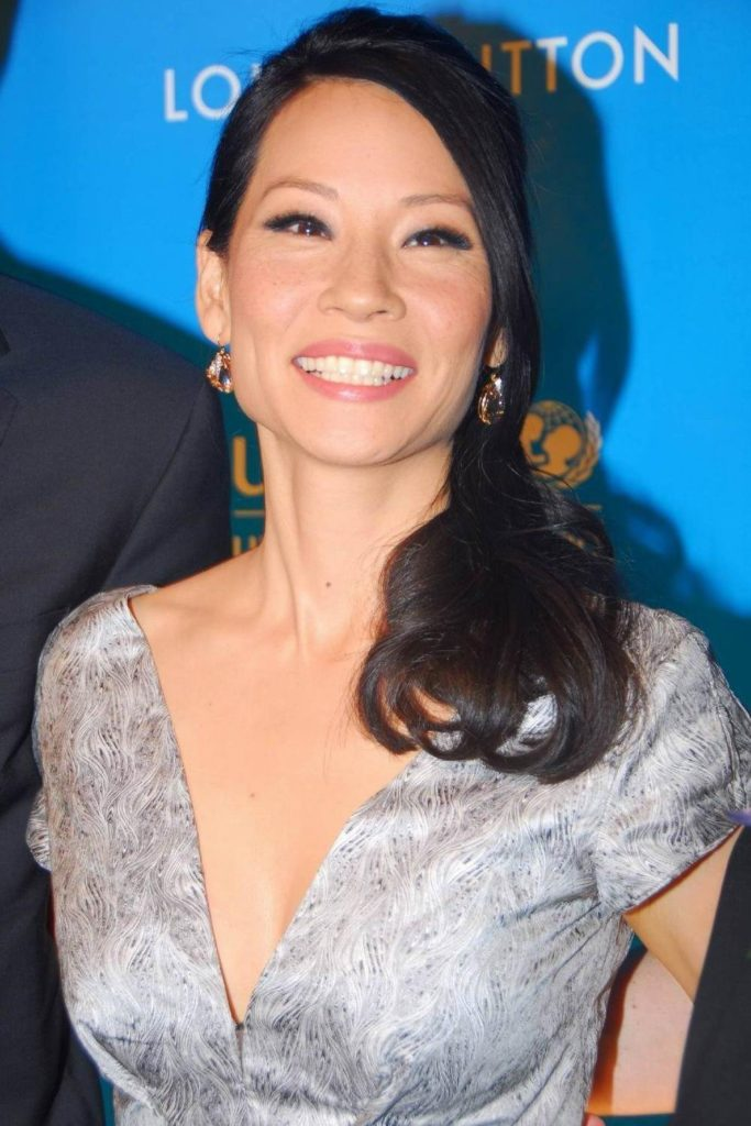 Lucy Liu Sexy Smile Images