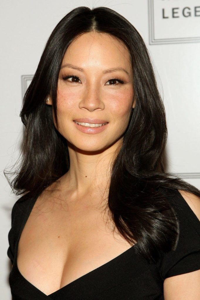 Lucy Liu Smile Wallpapers