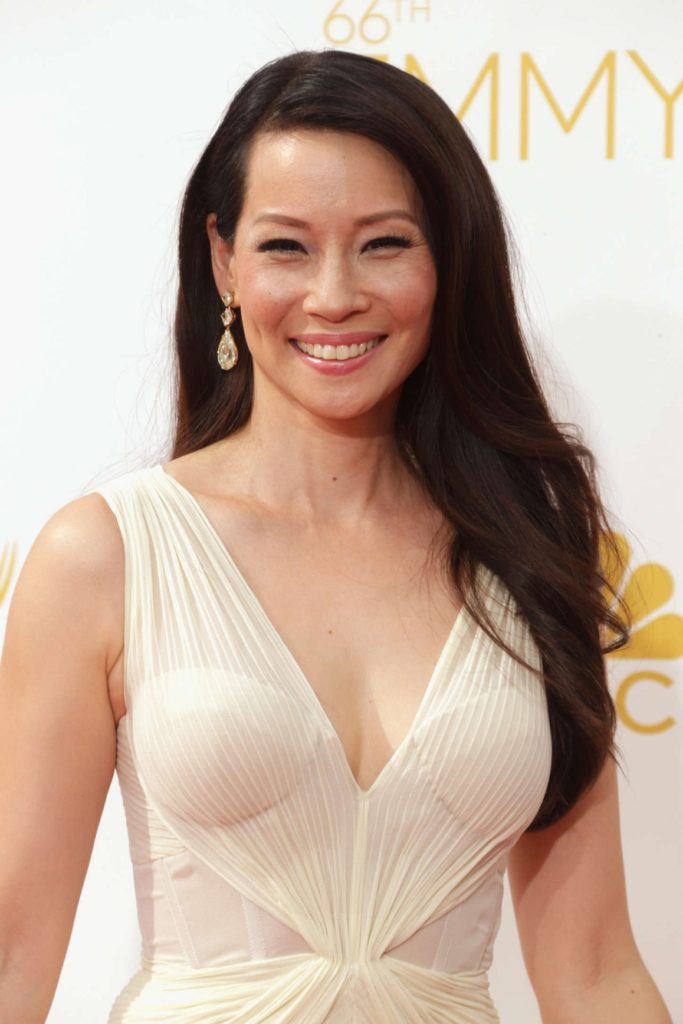 Lucy Liu Smiling Images