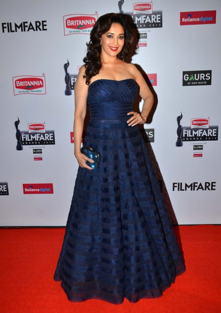 Madhuri Dixit Gown Images