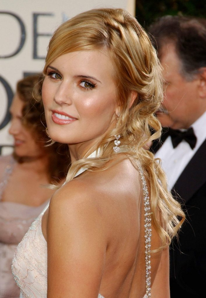 Maggie Grace Backless Pictures