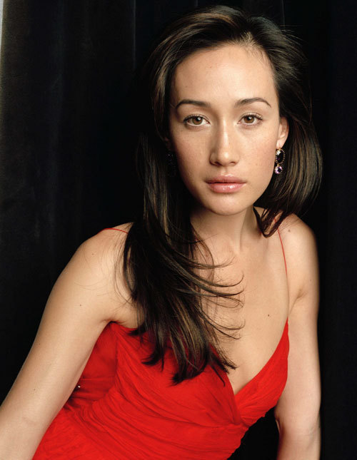 Maggie Q Braless Images