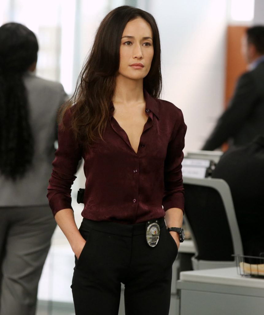 Maggie Q Jeans Pictures