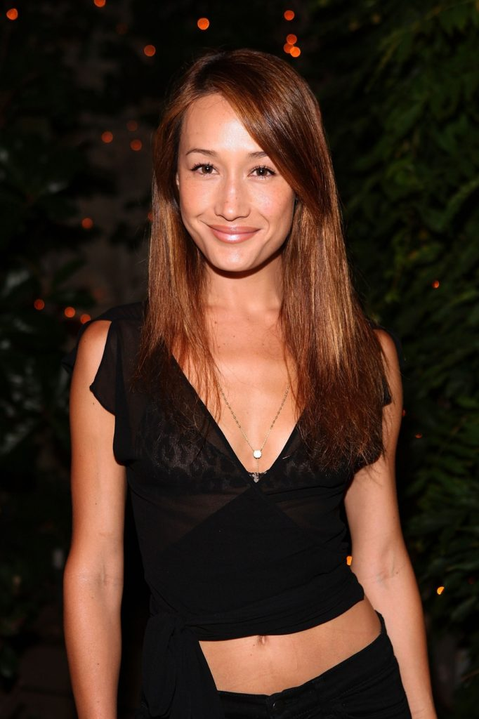 Maggie Q Navel Pictures