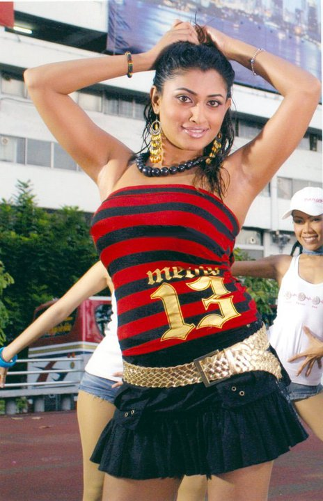 Malavika Thighs Pictures