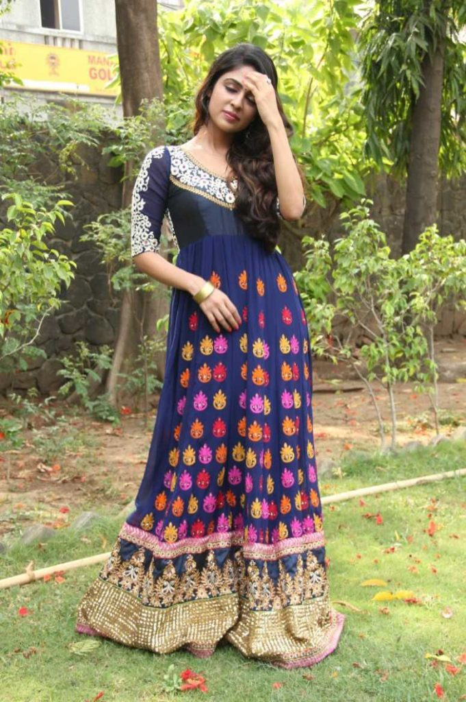 Malavika Wales Gown Images